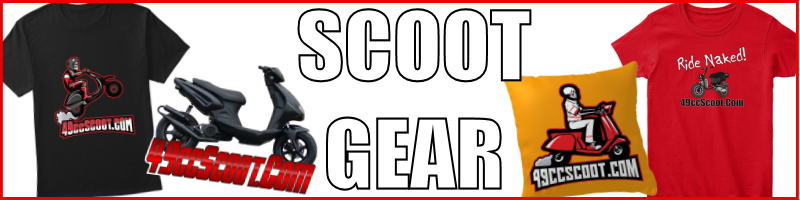 GET Your 49ccScoot.Com Gear!