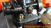 DellOrto Idle Speed Screw
