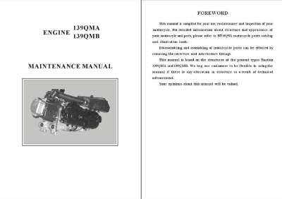 qmb139 engine diagram scooter service and repair manuals  scooter service and repair manuals