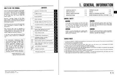 scooter service and repair manuals honda spree service manual pdf 86 Honda Spree Manual
