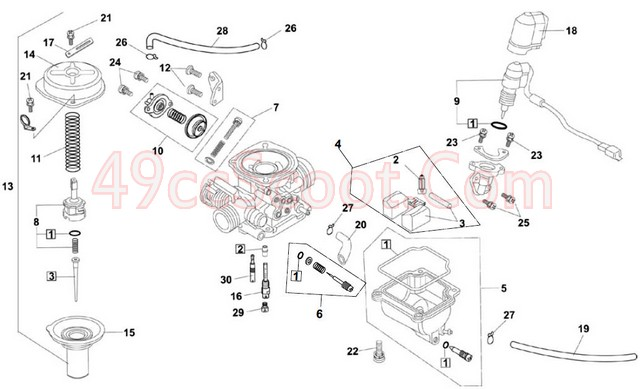 Gy6 150 Carb Connections And Diagram Manual Guide