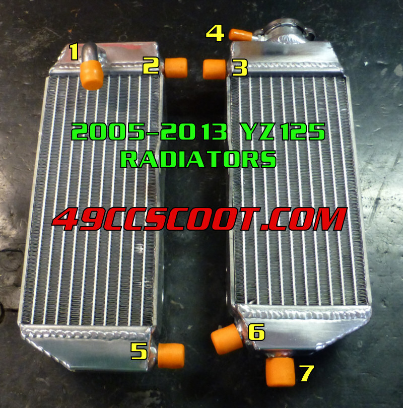 Radiator Hose Routing Diagram